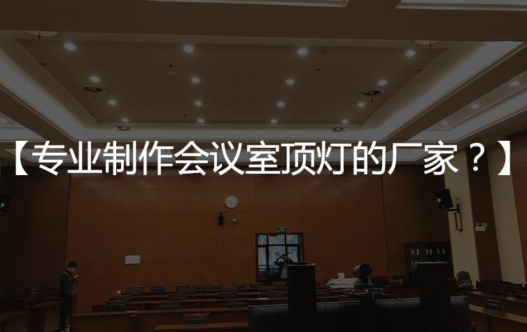 【会议室顶灯】专业布光,室内照明设计会议室厂家?