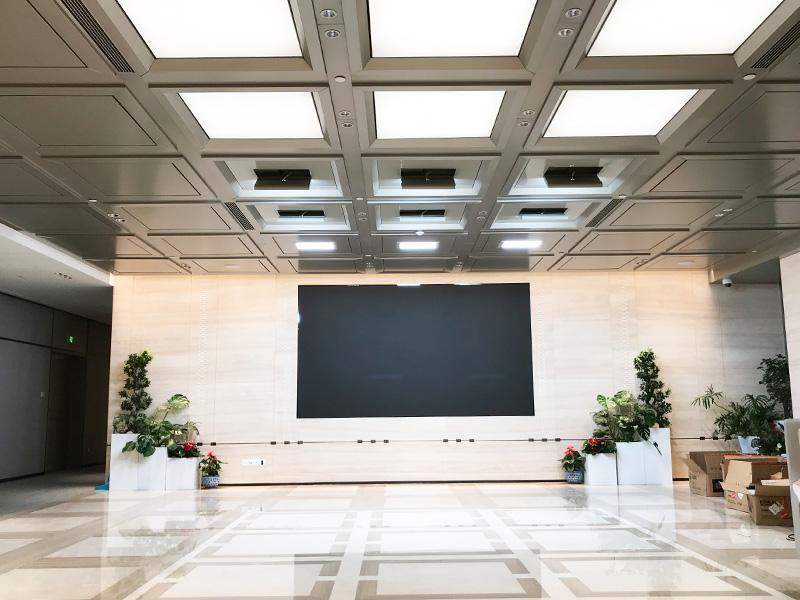 北京90㎡小型视频会议室灯光改造项目