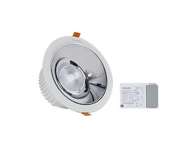 珂玛KEMLED荣威KM-T40/KM-T28大功率嵌入式防眩会议室筒灯