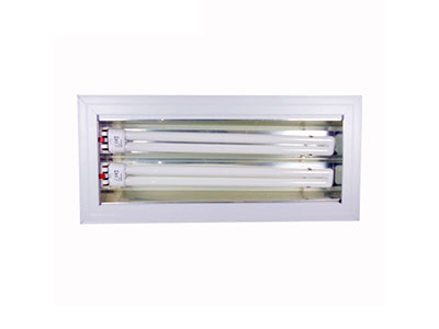DSR-2x36W/2x55W 内嵌式不可调角度会议室三基色灯