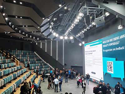 北京奔驰展览中心多功能报告厅灯光