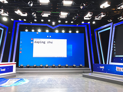 武汉广播电视台灯光项目圆满验收!大台都是找谁做演播室灯光