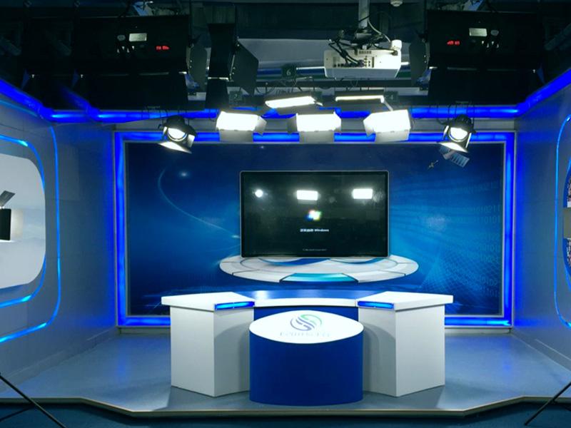 北京E20环境平台研究院演播室灯光案例