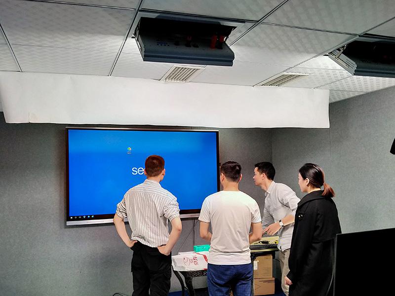 重庆中信大厦(北京环球优路教育)直播室灯光项目