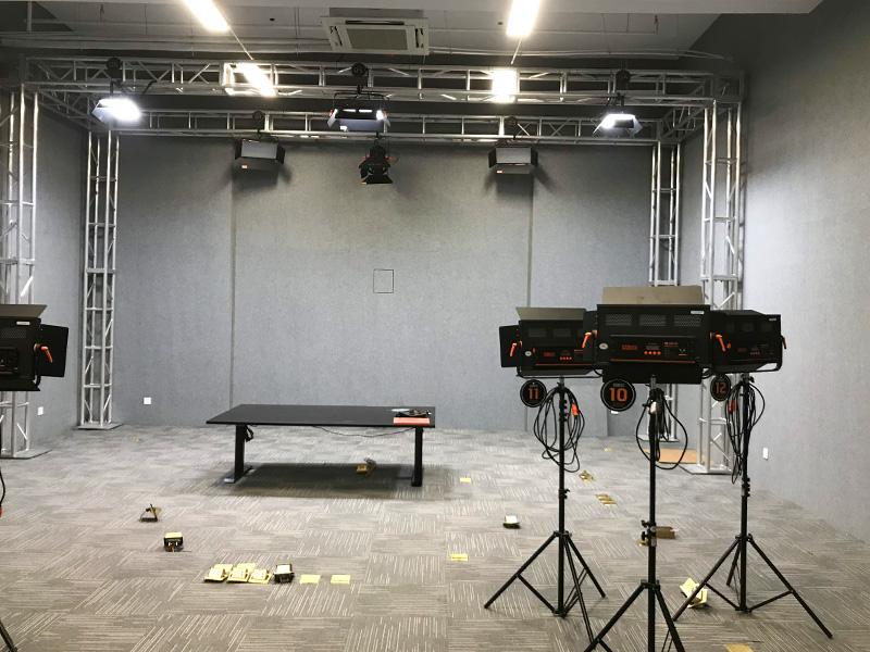 上海明星直播间灯光项目