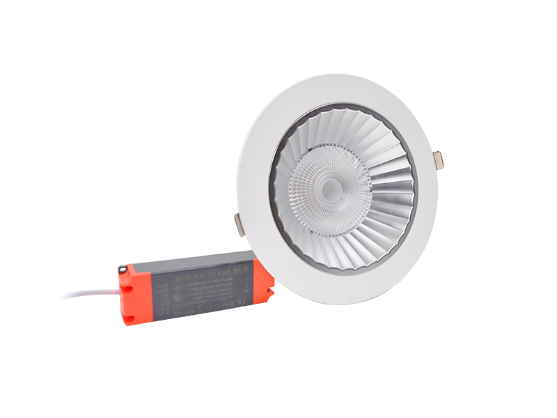 KM-T12R/T18R/T25R/T30R防眩LED会议室筒灯(可调色温、亮度)