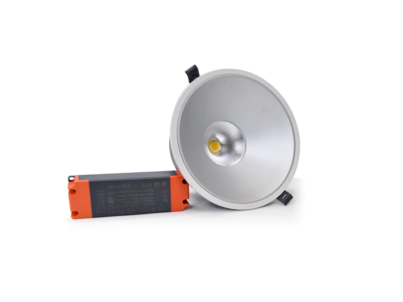 KM-T12C/T18C/T25C/T30C防眩LED会议室筒灯(可调色温、亮度)
