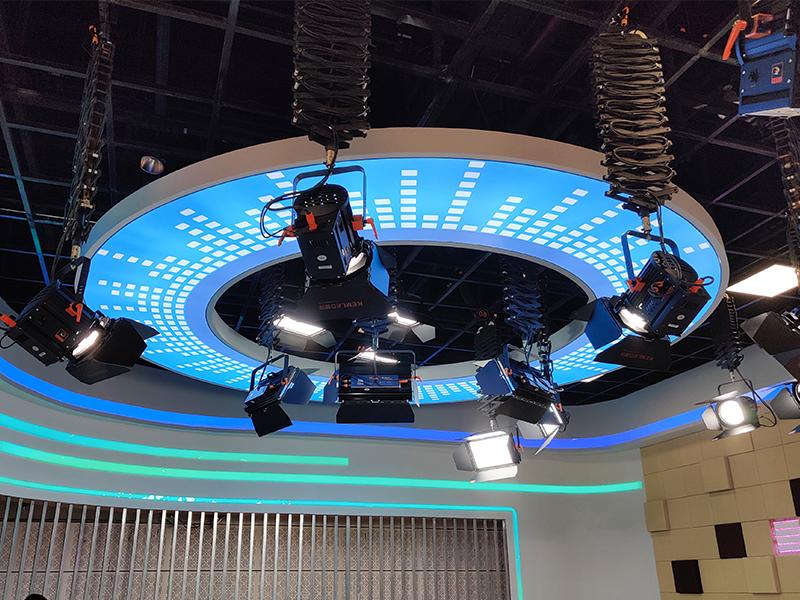 130㎡市级融媒体灯光改造项目-台州市融媒体中心