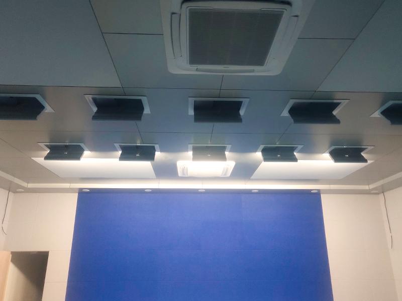 怒江交警支队指挥中心会议室灯光改造