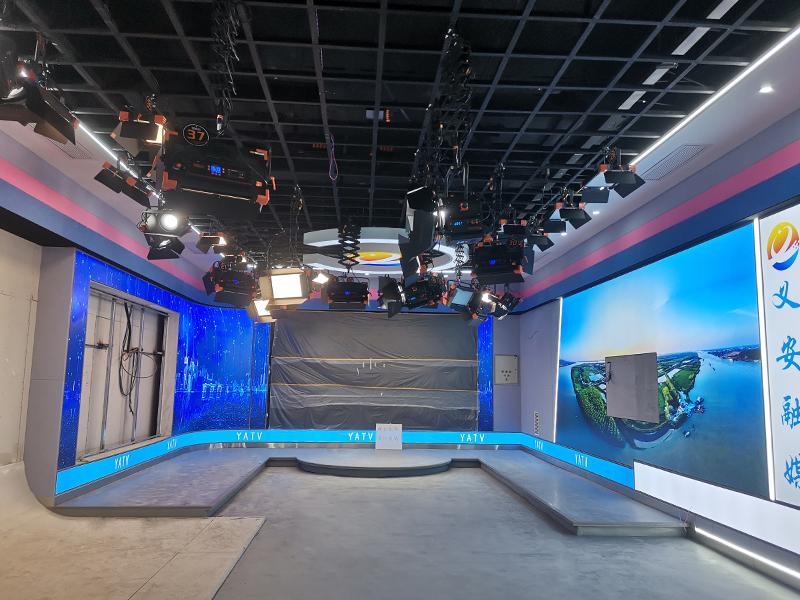 铜陵市义安融媒体演播室灯光设计