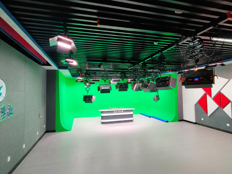 又一个985重点高校演播室灯光改造项目-西工大