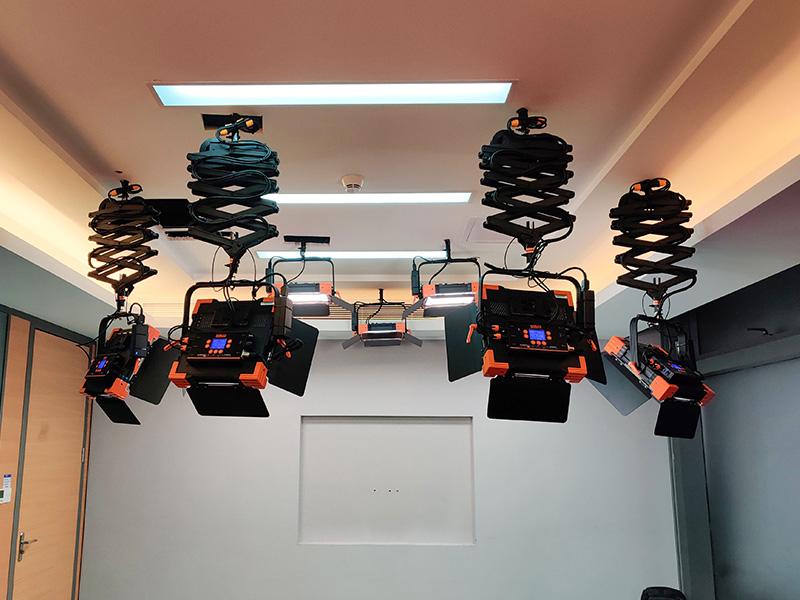 微众银行直播间灯光升级改造项目