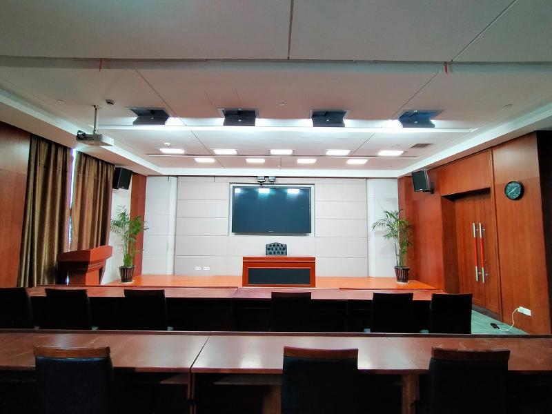 浙江省温州市公安局视频会议室灯光改造