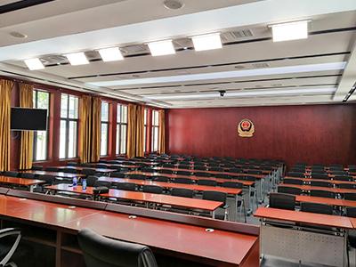 长江航运人民警察学院会议室灯光案例