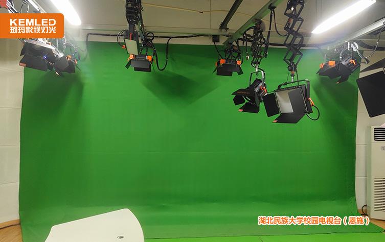 湖北恩施虚拟演播室灯光