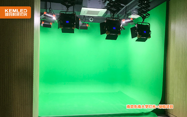 南京东南大学灯光+绿箱项目2